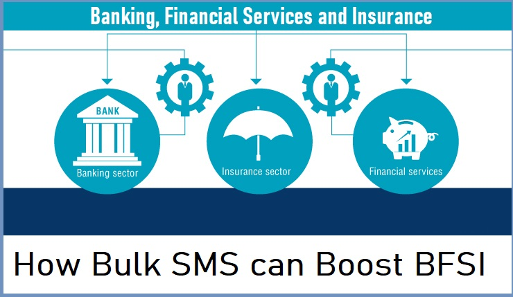 How Bulk SMS can Boost BFSI(Banking, Financial Services and Insurance)