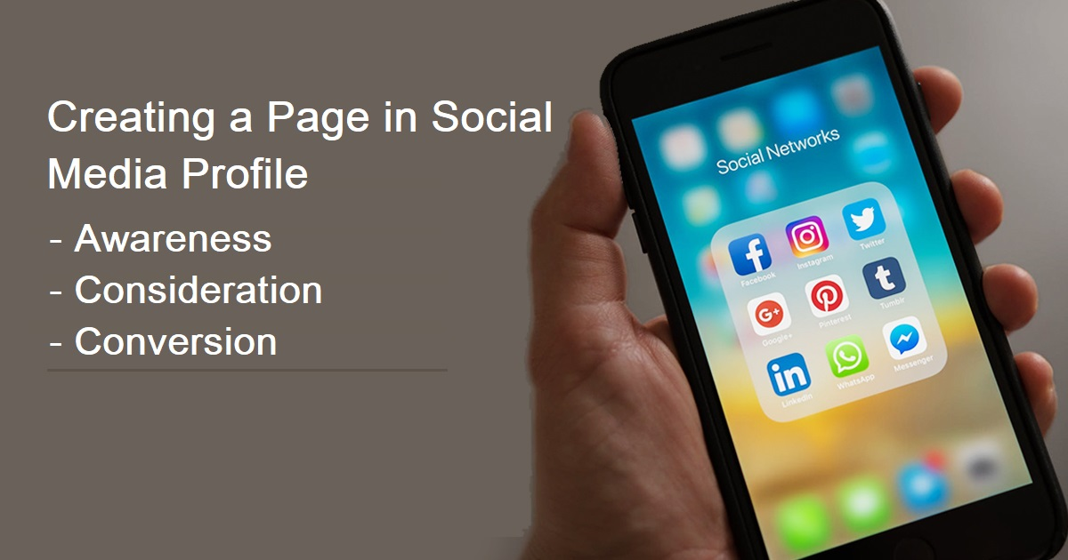 How to Create Pages in Social Media Accounts?